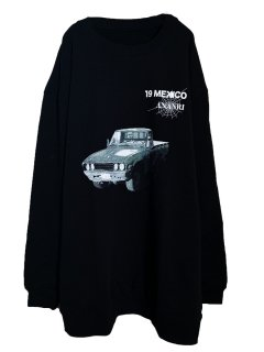 MARDIGRAS|Sweat「19MEXICO CAR」<Black>