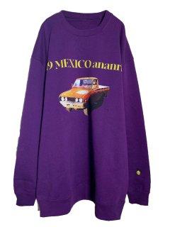 MARDIGRAS|Sweat「19MEXICO CAR」<Purple>