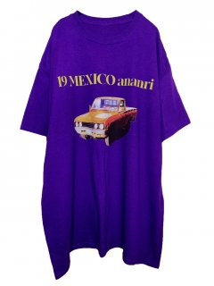 <img class='new_mark_img1' src='https://img.shop-pro.jp/img/new/icons1.gif' style='border:none;display:inline;margin:0px;padding:0px;width:auto;' />MARDIGRAS Tee「19 MEXCO CAR」<Purple>