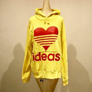 ART LOVE MUSIC|「ideas」Yellow hoodie