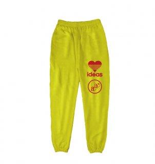 ART LOVE MUSIC|「ideas」Yellow long pants