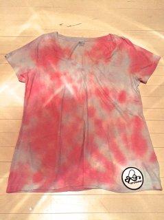 エアブラシ・ピンクTシャツ