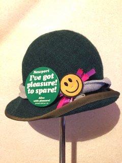 vintage Hat #3【OLIVE】