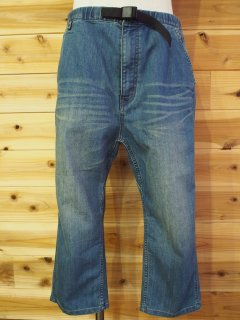 MANASTASH マナスタッシュ DRY DENIM CROPPED PANTS