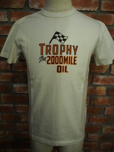 TROPHYCLOTHING トロフィークロージング TR17ss-206 2000mile Clew Tee ナルクルー Tシャツ