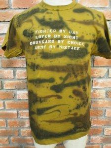 BUZZRICKSONZ バズリキソンズ SPLASH TIGER CAMOUFLAGE タイガーカモフラージュ Tシャツ