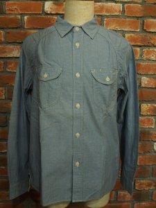 THEUNION ザユニオン THEOVERALLS ザオーバーオールズ BELL SHIRTS シャンブレー ワークシャツ