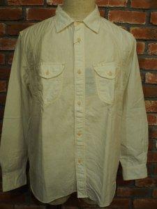 THEUNION ザユニオン THEOVERALLS ザオーバーオールズ LINE BELL SHIRTS シャンブレー ワークシャツ