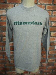 MANASTASH マナスタッシュ 90's LOGO LS T� ロゴT