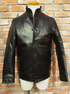 WATSONVILLE LEATHER COAT