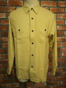 SUGAR CANE シュガーケーン SOLID TWILL L/S WORK SHIRT ソリッド ツイル ワーク シャツ