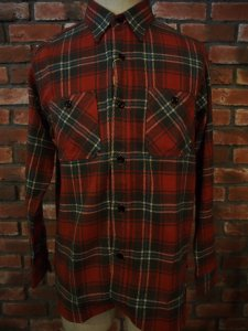 SUGAR CANE シュガーケーン TWILL CHECK  L/S WORK SHIRT SC27965