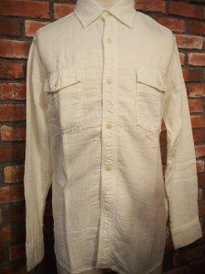 UES 501806 ガーゼワークシャツ GAUZE WORK SHIRT L/S ウエス