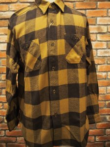 SUGAR CANE シュガーケーン SC28229長袖|ツイル|ネルシャツ『TWILL CHECK WORK SHIRT』 (Long sleeve shirt)