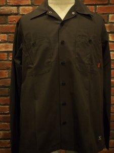 BLUCO ブルコ OL-109-020 ワークシャツ STD WORK SHIRTS L/S GRY グレイ