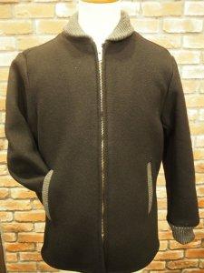 TROPHY CLOTHING トロフィークロージング TR20AW-507 ウールメルトン ファラオ ジャケット BLK