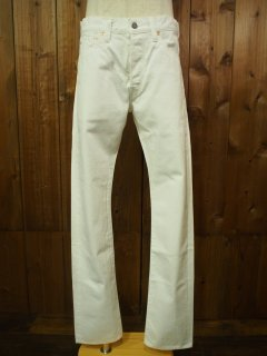 12oz.WHITE DENIM TYPE-�(SLIM FIT)