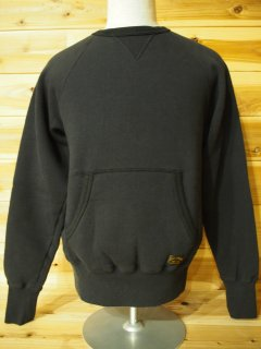 FRONT  V POCKET CREW SWEAT PLAIN