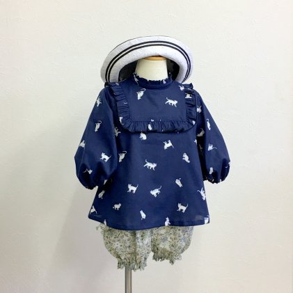 スクエアブラウス&OP・子供服・型紙