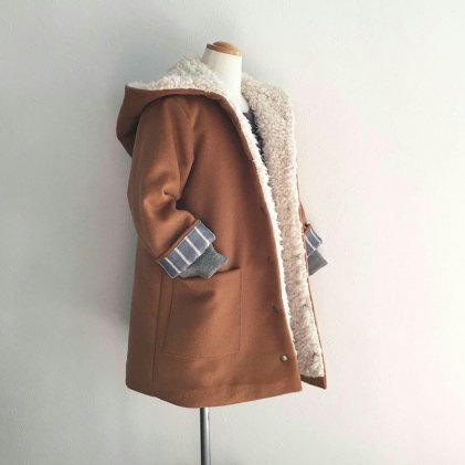 エゾコート・子供服・型紙