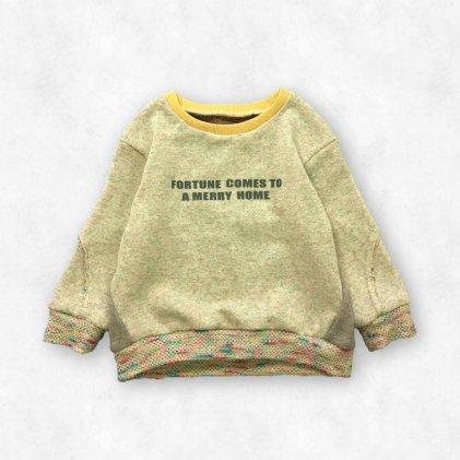 スラッシュトレーナー・子供服・型紙