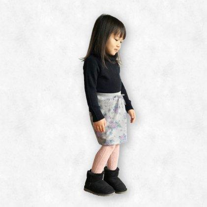 スウェットスカート・子供服・型紙