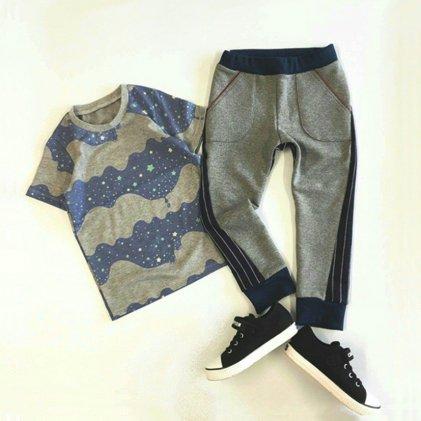 スラッシュパンツ・子供服・型紙