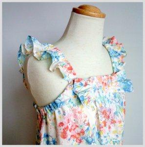◆廃盤◆リボンサロペット・子供服・型紙