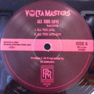 VOLTA MASTERS / All This Love feat. Clever