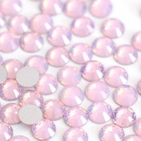 ガラス製 ラインストーン<BR>ピンクオパール SS3〜SS30サイズ選択可