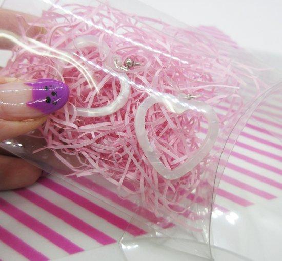ラッピング紙 パッキン ピンク 2g