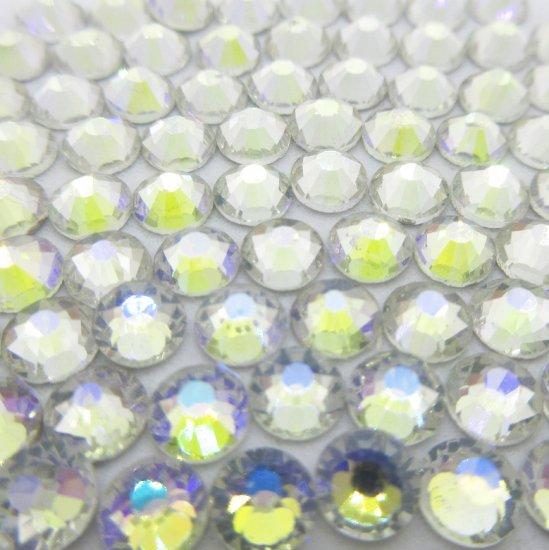 ガラス製 ラインストーン<BR>シマークリスタル SS3〜SS30 サイズ選択可