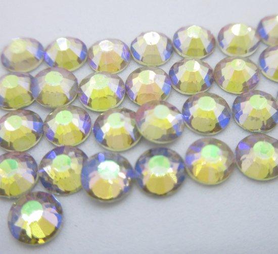 ガラス製 ラインストーン<BR>シマーアメジスト SS3〜SS30 サイズ選択可