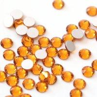 【納期4週間程度】卸専用ガラスラインストーン トパーズ<br>SS3〜SS30サイズ選択可 約14400粒