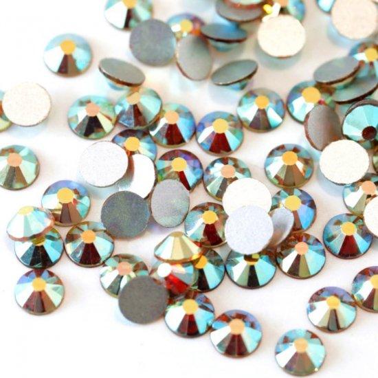ガラス製 ラインストーン<BR>サンライズ SS3〜SS30 サイズ選択可