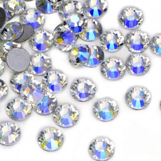 【納期4週間程度】卸専用ガラスラインストーン シマークリスタル<br>SS3〜SS30サイズ選択可 約14400粒