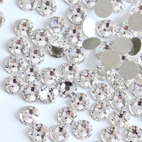 【納期4週間程度】卸専用ガラスラインストーン クリスタル<br>SS3〜SS20サイズ選択可 約14400粒