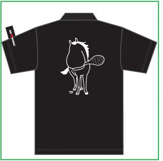 トキノミノルポロシャツ黒 S(送料込み:メール便、身丈65・身幅47・肩幅44・袖丈20)