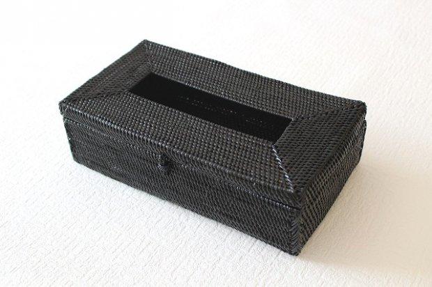 アタ製品ティッシュケース(ブラック)D画像