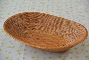アタ製品楕円型皿かご