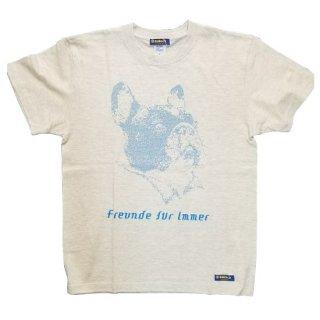 dot T-シャツ ブルー