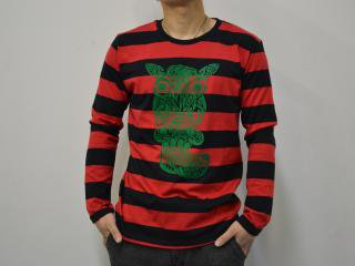 ROBA L/S Tシャツ color:RB size:M