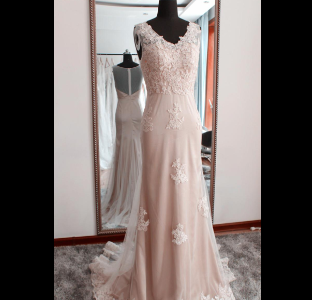 【生地代金込み】ブライズメイドドレス フィッシュテールロングドレス