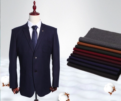 SF1074 スーツなどの製作に 化学繊維無地生地 (50cm単位)