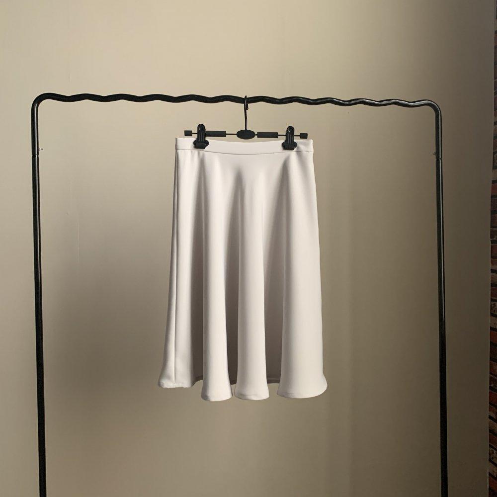 フレア180度スカート 百色カラー変更無料