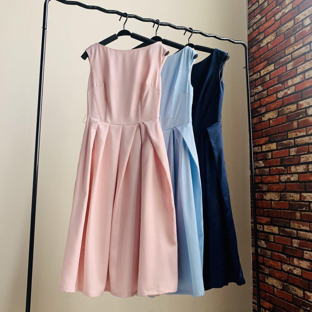 ウエストリボンドレス 全90色