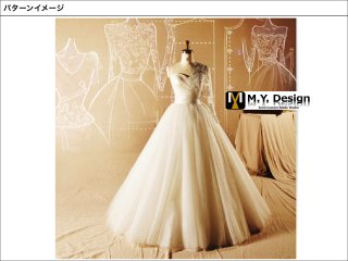 ウェディングドレス  5wayチュールドレス WD1002