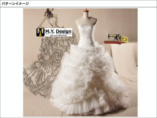 ウェディングドレス  WD1008