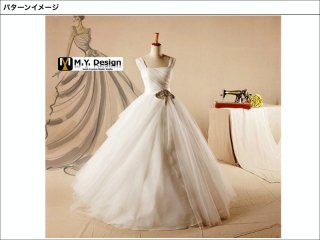 ウェディングドレス  WD1009