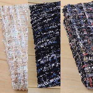 TW1081流行りカラーでラメ糸とキラキラ入りの3種ツイード